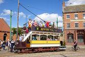 Beamish Tram — Stock Photo