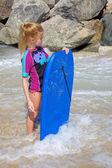 Unga våg boarder — Stockfoto