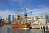 HMS Endeavour Replica — Stock Photo