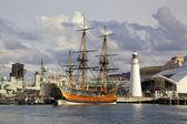 HMS Endeavour Replica — Stock Photo