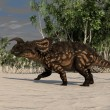 Einiosaurus running — Stock Photo #12172187
