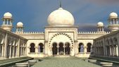 Arabian palace — Stock Photo