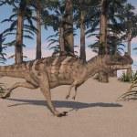 Ceratosaurus dinosaur — Stock Photo #45298239