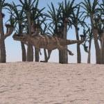 Ceratosaurus dinosaur — Stock Photo #45299339