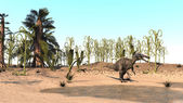 Suchomimis dinosaur — Stock Photo