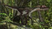 Utahraptor dinosauro — Foto Stock