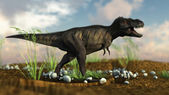 Yangchuanosaurus — Stock Photo