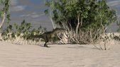 Monolophosaurus dinosaur — Foto de Stock