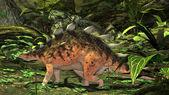 Prehistorické kentrosaurus dinosaurus — Stock fotografie