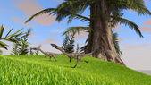Coelophysis dinosaurs — Stock Photo