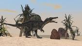 Spinosaurus dinosaurie — Stockfoto