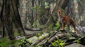 Sabertooth tiger — Stock Photo