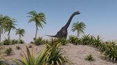 Brachiosaurus dinosaur — Stock Photo