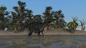 Spinosaurus dinosaur — Stock Photo