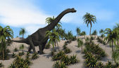 Brachiosaurus dinosaur — Stock Photo