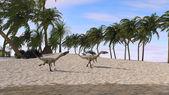 Coelophysis 恐龙 — 图库照片