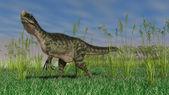 Monolophosaurus dinozor — Stok fotoğraf