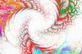 Abstracción fractal — Foto de Stock