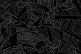 分形抽象 — 图库照片