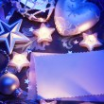 Art Christmas greeting card — Stock Photo #14218653