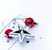 Konst julgran dekoration — Stockfoto