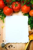 艺术食品背景 — 图库照片