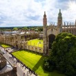 kunst cambridge Universiteit en kings college chapel — Stockfoto #27791857