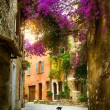 Art beautiful old town of Provence — Foto de Stock