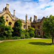 Art Cambridge University College  — Stockfoto