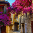 Art beautiful old town of Provence — Stock Photo