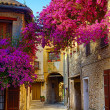 Art beautiful old town of Provence — Foto Stock