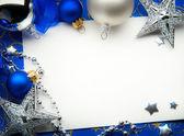 Art carte de voeux de Noël — Photo