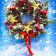 Christmas and New Year background — Foto de Stock