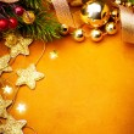 Art Christmas greeting card — Stock Photo #34417981