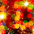 Abstract Christmas tree light  background — Stock Photo