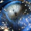Stock Photo: Art Christmas and New years eve 2014