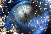 Art Christmas and New years eve 2014 — Stock Photo