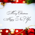 Art christmas holidays frame — Stock Photo #36629725