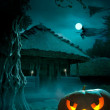 Background for a party on Halloween night — Stock Photo #7103139
