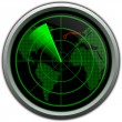 Military radar screen — Stock Photo #17140435