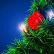 Christmas ball background — Foto de Stock