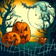 halloween background — Vektorgrafik