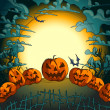 Royalty-Free Stock 矢量图片: Halloween background