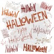 Halloween background — Vector de stock #13511100
