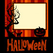 Halloween background — Vector de stock #13644468