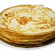 Stock Photo: Russiyeast pancakes