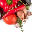Fresh ingredients for cooking - Stock Photo
