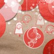Stock Photo: Beautiful paper Christmas collage