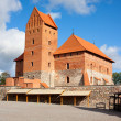 Stock Photo: Trakai Island Castle