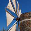 Stock Photo: Windmill in Lasithi Plateau